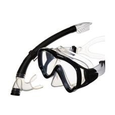 Набор Junior (маска+трубка) детский, черный Atlantis MS10-SP20PBK