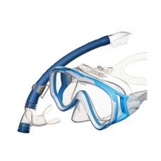 Набор Junior (маска+трубка) детский, голубой Atlantis MS10-SP20BB