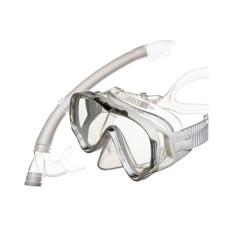 Набор Junior (маска+трубка) детский, белый Atlantis MS10-SP20W