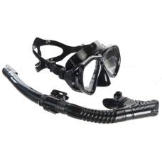 Набор (маска + трубка) Open Water черный Atlantis M218S153BKS