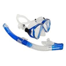 Набор (маска + трубка) Open Water синий Atlantis M218S153BL