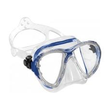 Маска BIG EYES EVOLUTION прозрачный силикон прозрачно-синяя рамка Cressi DS336062