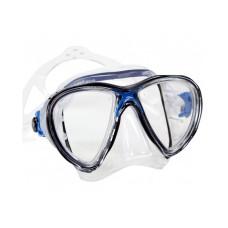 Маска BIG EYES EVOLUTION прозрачный силикон темно-синяя рамка Cressi DS336020