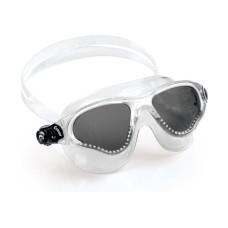 Очки COBRA прозрачный силикон/темные линзы/прозрачная рамка Cressi DE201931