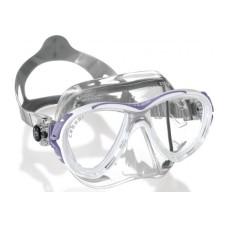 Маска EYES EVOLUTION CRYSTAL прозрачный силикон прозрачная рамка Cressi DS350060