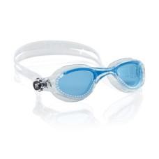 Очки FLASH прозрачный силикон / азур / линзы азур Cressi DE202323