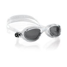 Очки FLASH прозрачный силикон / прозрачные / линзы дымчатые Cressi DE202331