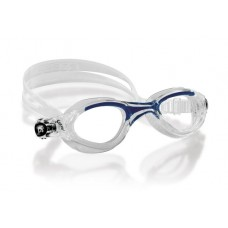 Очки FLASH SMALL, прозрачный силикон / синие / линзы прозрачные Cressi DE203020