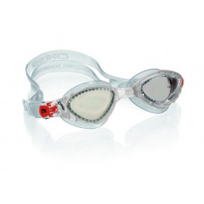 Очки FOX прозрачный силикон / прозрачные/ линзы фотохромные Cressi DE202100