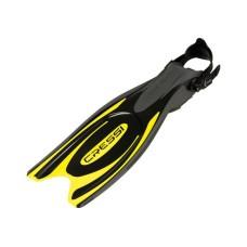 Ласты FROG PLUS черный/желтый L/XL Cressi BF205144