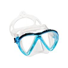 Маска LINCE прозрачный силикон аквамарин рамка Cressi DS311063