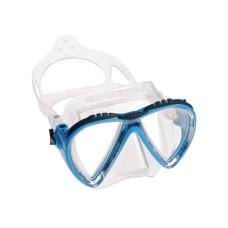 Маска LINCE прозрачный силикон синяя рамка Cressi DS311020