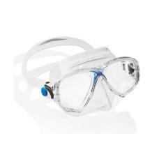 Маска MAREA прозрачный силикон синяя рамка Cressi DN281020