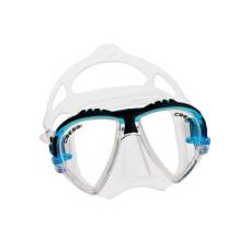 Маска MATRIX прозрачный силикон аквамарин рамка Cressi DS301063