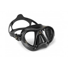Маска NANO черный силикон черная рамка Cressi DS365050