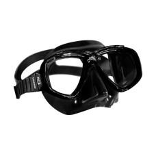 Маска PERLA черный силикон черная рамка Cressi DN208150