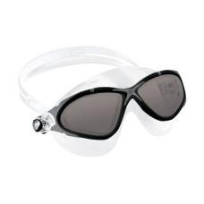 Очки PLANET прозрачный силикон/черная рамка/темные линзы Cressi DE202651