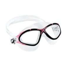 Очки PLANET прозрачный силикон/розовая рамка Cressi DE202640