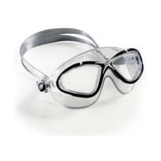Очки SATURN CRYSTAL силикон кристал/прозрачные линзы/черно-белая рамка Cressi DE202460