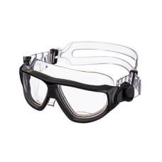 Очки-полумаска ARGO , прозрачный силикон, черная рамка, прозрачные линзы IST G25BK