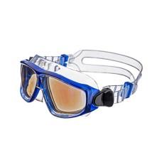 Очки-полумаска ARGO , прозрачный силикон, синяя рамка, голубые линзы IST G25-ТСB-СВ
