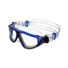 Очки-полумаска ARGO , прозрачный силикон, синяя рамка, прозрачные линзы IST G25CB