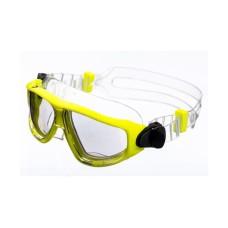 Очки-полумаска ARGO , прозрачный силикон, желтая рамка, прозрачные линзы IST G25NY