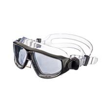 """Очки-полумаска ARGO , прозрачный силикон, серебристая рамка, """"зеркальные"""" линзы IST G25-ТSV-M"""