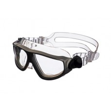 Очки-полумаска ARGO , прозрачный силикон, серебристая рамка, прозрачные линзы IST G25SV