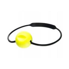 Шумовое устройство для дайверского баллона, желтый шар на силиконовом обруче IST ТА-NYRU