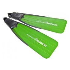 Ласты для подводной охоты зеленые с закрытой пяткой 38/40, 40/42, 42/44, 44/46 Imersion PVI40