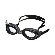 Очки для плавания LEGЕND затяжка Easy-CLIP,покрытие Аnti-FOG,рамка/линза- черный-серебро/дымч Saeko P410AV05212