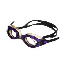 Очки для плавания LEGЕND затяжка Easy-CLIP,покрытие Аnti-FOG,рамка/линза- фиолет-черный/дымч Saeko P410AV05213