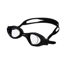 Очки для плавания LEADER затяжка QuickFIT, покрытие Аnti-FOG, рамка/линза -черная/светло-серая Saeko P430AV05213