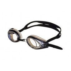 Очки для плавания VISION покрытие Аnti-FOG, рамка/линза - черная/прозрачная Saeko P420AV05211