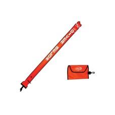 Буй-маркер надувной нейлон 6 x 72 см saecodive SB-06
