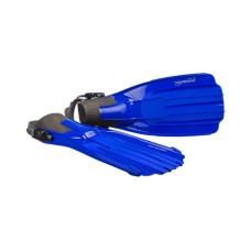 Ласты TORNADO для дайвинга, комбинированный термопласт, синие L, M, XL Saekodive 2061B
