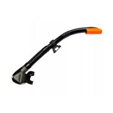 """Трубка """"БЕТТА"""" черный силикон, черная, оранжевый верх Sargan 7451BK/OR"""
