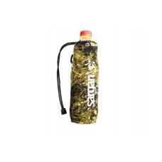 Чехол под бутылку 0.5-0.6 л, камуфлированный неопрен RD2.0 5мм, на зятяжке Sargan SCHBK0,6