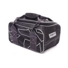 Сумка для грузов Sargan Енот, 15х18х30 см, поликордура Oxford 1680D PU черный