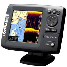 Эхолот-навигатор Lowrance Elite-5 DSI
