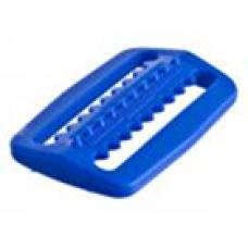 Пряжка-фиксатор для фиксации грузов на нейлоновом грузовом ремне, синий пластик IST WK-B