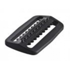 Пряжка-фиксатор для фиксации грузов на нейлоновом грузовом ремне, черный пластик IST WK-BK